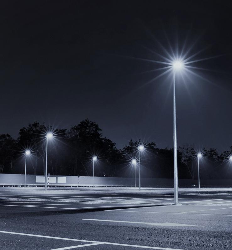 Vizona Solar Light Pole EcoBeam