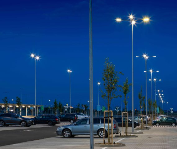 Modern Car Park